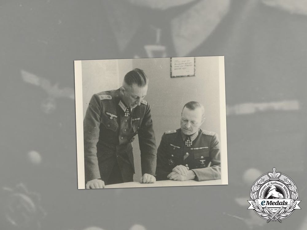 A Wartime Period Photo of KC Recipient Lieutenant General