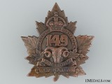 149th Battalion (Lambton) Overseas Cap Badge CEF
