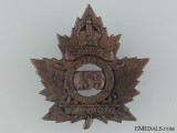 155th Quinte Overseas Infantry Battalion Cap Badge CEF