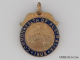1908 Australian Great White Fleet Visit Medal