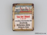 1937 German Iron Works Labour Day Tinnie