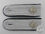 An Army Administration Oberleutnant's Shoulder Board Pair