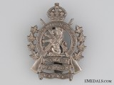 20th Halton Rifles Cap Badge