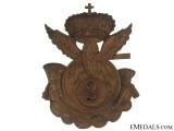 2nd Royal Motor Transport Pith Helmet Badge