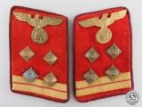 A Set of NSDAP Gau Hauptgemeinschaftsleiter Collar Tabs with RZM Label