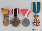 Four WWII Period Awards