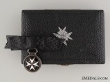 Order of St. John, Serving Sister Breast Badge, Miniature