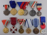 Twelve European Medals and Awards