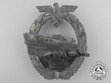 An E-Boat Badge; Second Version by Schwerin, Berlin; Second Version