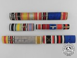 Five German Ribbon Bars