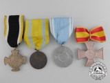 Four First War German Medals and Decorations