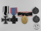 Five First War German Medals, Awards, and Decorations