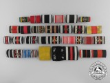 A Lot of Twenty-Three German Ribbon Bars