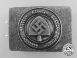An RAD (Reichsarbeitsdienst) Enlisted Man's Belt Buckle by Overhoff & Cie
