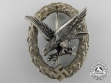 A Luftwaffe Radio Operator & Air Gunner Badge by C.E.Juncker