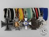 A First War Reuss and Saxon Medal Bar