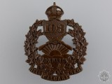 A 103rd Calgary Rifles Regiment Cap Badge