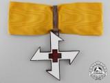 A Kingdom of Romanian Queen Marie Cross; First Class