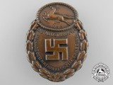 An NSDAP Day Badge; Gau-Traditionsabzeichen Osthannover 1933