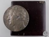 A 1832-1932 Goethe Centenary Medal with Case