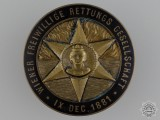 A 1881 Austrian Life Saving Badge