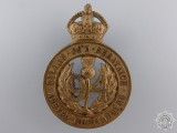 A 1904 Argyll Highlanders Cap Badge