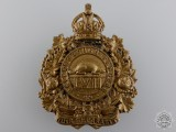 A 1910 Peterborough Rangers Cap Badge