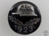 A 1923 Stahlhelm Membership Badge in Silver