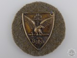 A 1930 Hungarian Soha Badge