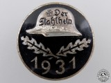 A 1931 Stahlhelm Membership Badge