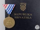 A 1995 Republika Hrvatska Operation Storm Medal with Case