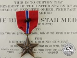 A Bronze Star to Captain Van Quynh; Vietnamese Army with Documents