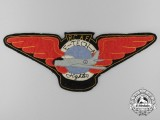 A Royal Canadian Air Force (RCAF) Electrical Technician (Air) Fighter Jacket Patch