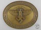A 1938 NSFK Award Medallion; Numbered