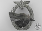 A Kriegsmarine E-Boat Badge by Schwerin; Second Version