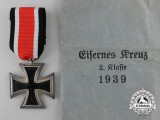 A Mint Iron Cross Second Class 1939 with Packet by F.W. Assmann & Söhne