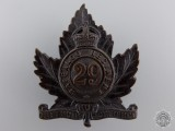 A 29th Waterloo Regiment Cap Badge