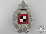 A First War Prussian Observer's Badge; Hollow Version