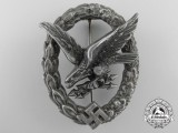 A Luftwaffe Air Radio Operator & Air Gunner Badge by C.E. Juncker