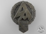 A Large Saxon SA Meeting Day Badge