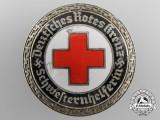 A German DRK Senior Helper's Service Badge