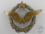 A First War French Pilot's Badge; First Version c.1918-1922 Issue