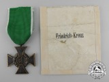 A 1914 Anhalt Friedrich Cross with Packet