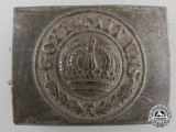 A German Imperial NCO/EM Belt Buckle