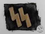 A Waffen-SS EM/NCOs Runic Collar Tab