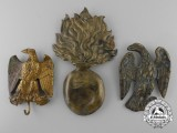 Three French Napoleonic Badges