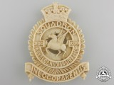 An Ivory Royal Canadian Air Force 200 Squadron Badge