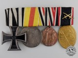 A First War German Imperial Medal Bar