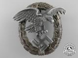 A Luftwaffe Observer's Badge in Aluminum