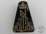 A 1945-1946 Royal Netherlands East Indies Army (K.N.I.L.) War Volunteer Badge